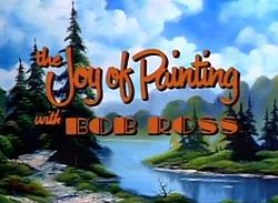 The joy of painting title screen
