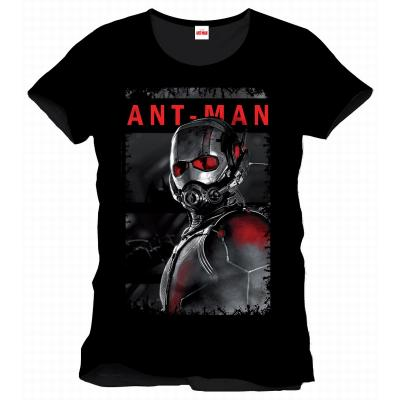 ANT-MAN  Tshirt Men model ANT-MAN RED AND WHITE POSTER