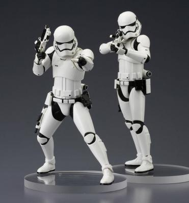 Star Wars ARTFX+ Episode VII First Order Stormtrooper 18cm set de 2 statue pvc