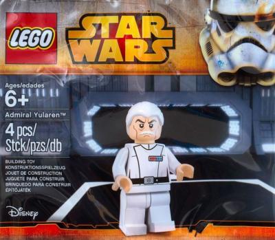 STAR WARS LEGO POLYBAG ADMIRAL YULAREN