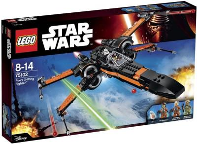 STAR WARS LEGO Poe's X-Wing Starfighter - 75102