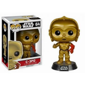 STAR WARS Episode VII The Force Awakens FUNKO POP - C3-PO Vinyl Figure 10cm