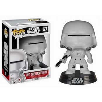 STAR WARS Episode VII The Force Awakens FUNKO POP - First Order Snowtrooper Vinyl Figure 10cm