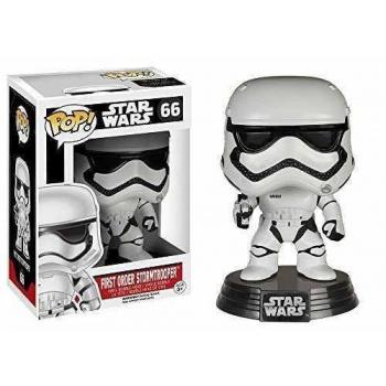 STAR WARS Episode VII The Force Awakens FUNKO POP - First Order Stormtrooper Vinyl Figure 10cm