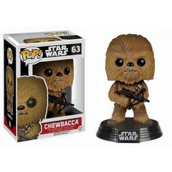 STAR WARS Episode VII The Force Awakens FUNKO POP - Chewbacca Vinyl Figure 10cm
