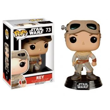 STAR WARS Episode VII The Force Awakens FUNKO POP - Rey with Goggles Vinyl Figure 10cm Exclusive limited