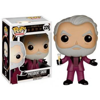 The Hunger Games - Funko POP - President Snow Figurine Vinyl 10cm