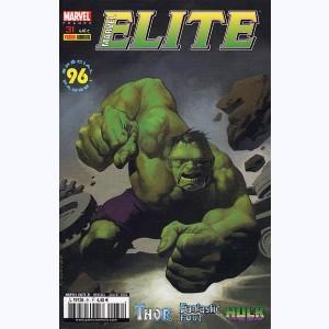MARVEL Elite  n° 31 Hulk écrase