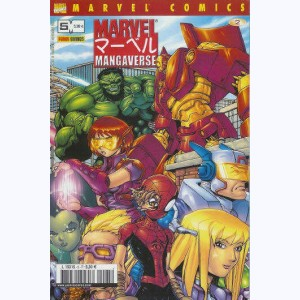 82936 marvel manga n 5 mangaverse one shots 2