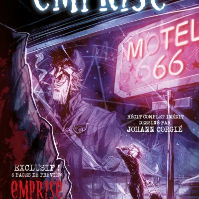 AKILÉOS - FREE COMIC BOOK DAY FRANCE 2018 - Emprise : Motel 66