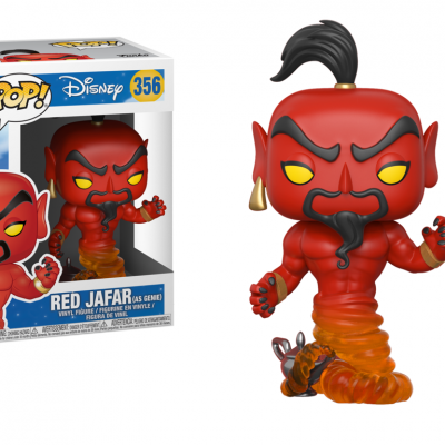 ALADDIN DISNEY - Funko POP - Jafar (Red) Vinyl Figure 10cm