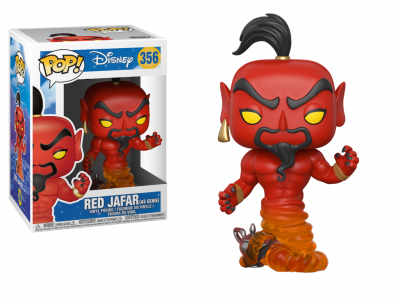 DISNEY ALADDIN - Funko POP - Jafar (Red) Vinyl Figure 10cm
