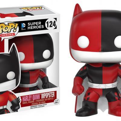 Batman - Funko POP Heroes - Batman as Harley Quinn Impopster  Figurine Vinyl 10cm