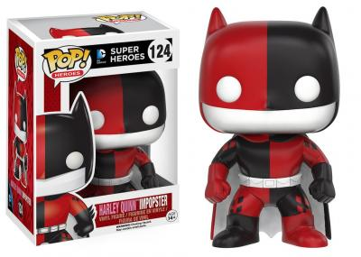 Batman - Funko POP Heroes - Batman as Harley Quinn Impopster  Figurine Vinyl 10cm