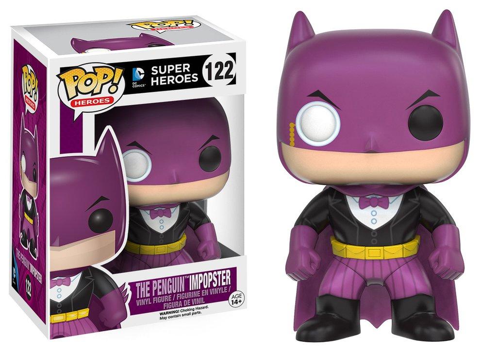 Batman funko pop heroes batman as penguin impopster figurine vinyl 10cm
