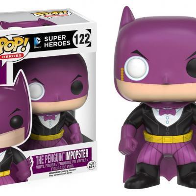 Batman - Funko POP Heroes - Batman as Penguin Impopster  Figurine Vinyl 10cm
