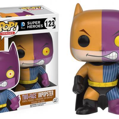 Batman - Funko POP Heroes - Batman as Two-Face Impopster  Figurine Vinyl 10cm