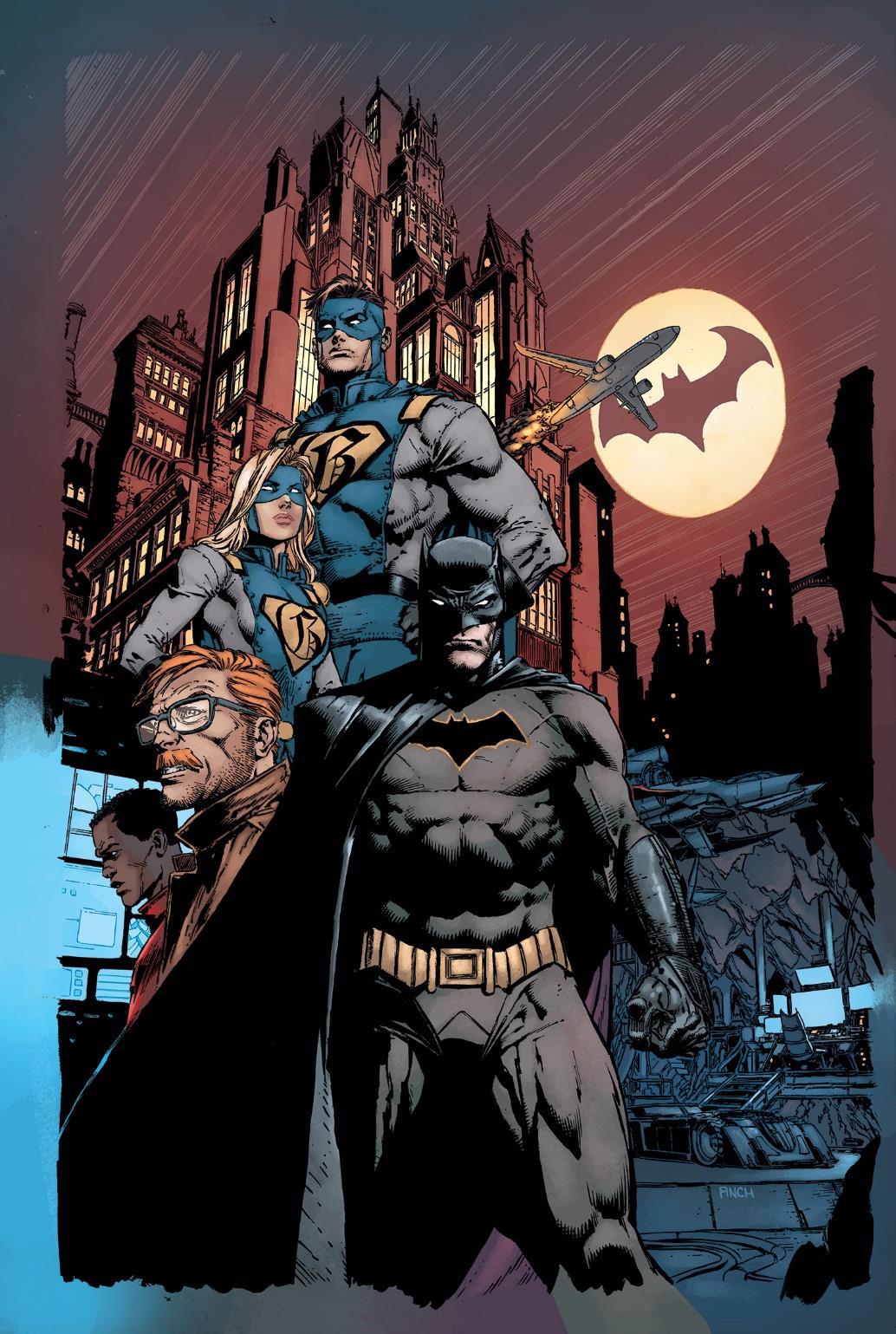 Batman rebirth 1 vc urban comics