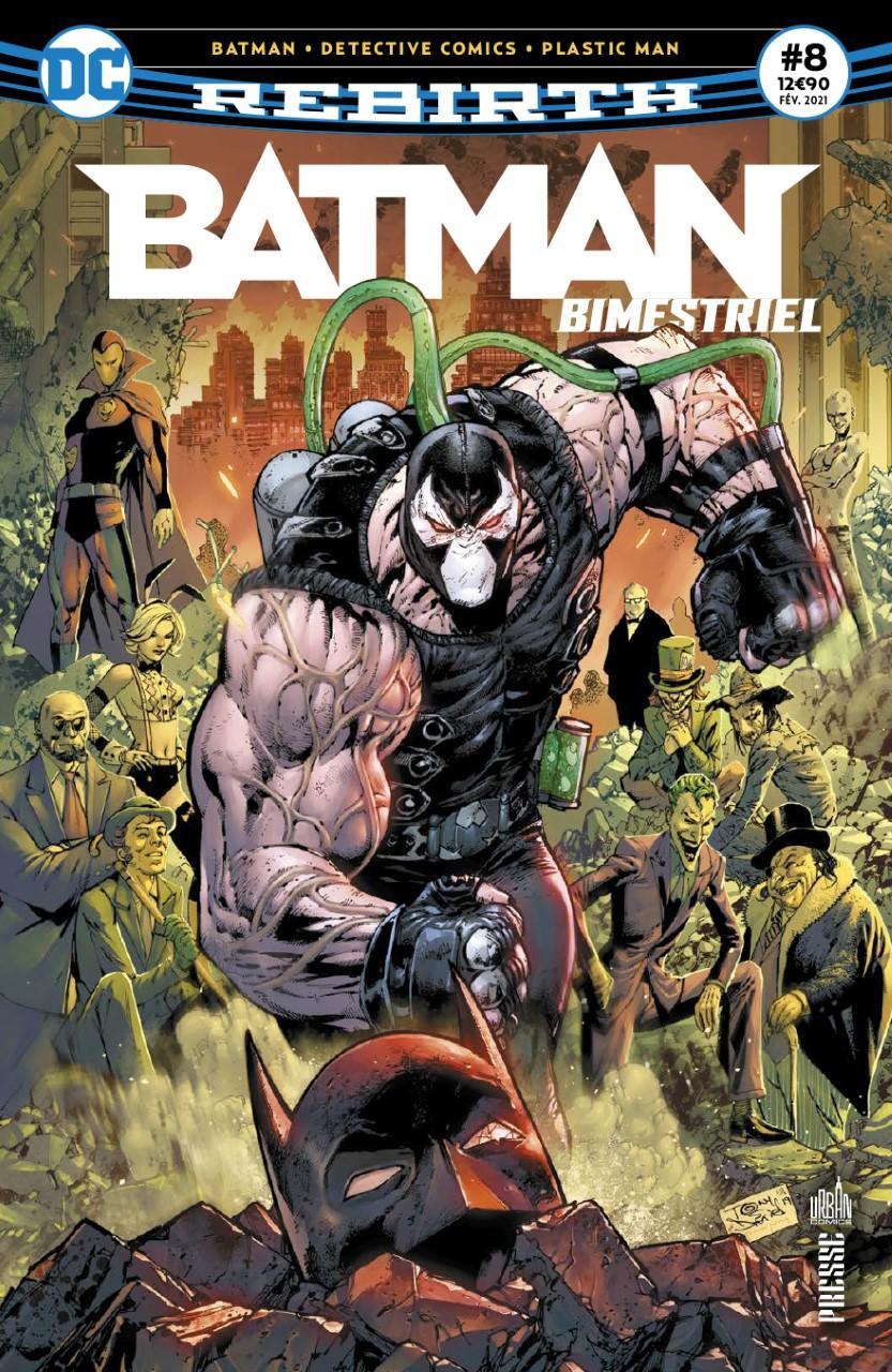 Batman rebirth 8 bimestriel urban comics