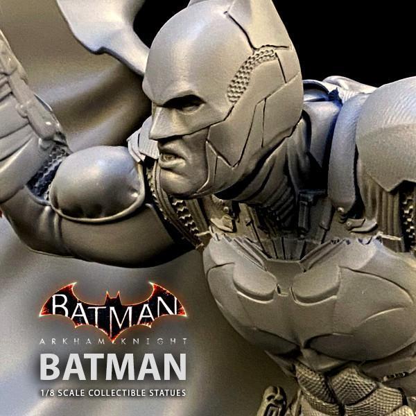 Batman siver fox collectibles batman arkham knight 1 8 scale statue
