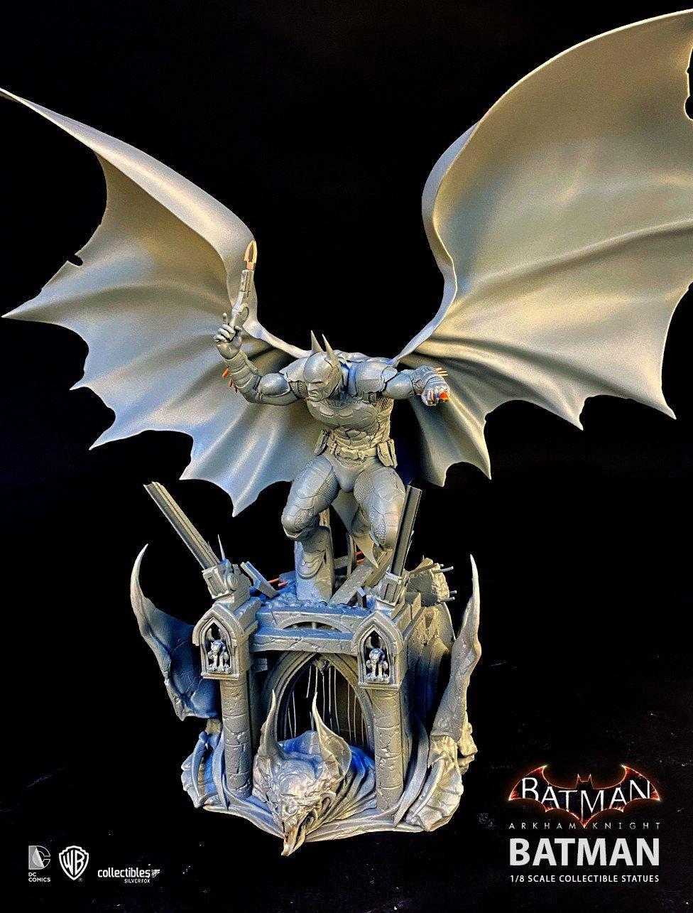 Batman siver fox collectibles batman arkham knight 1 8 scale statue11