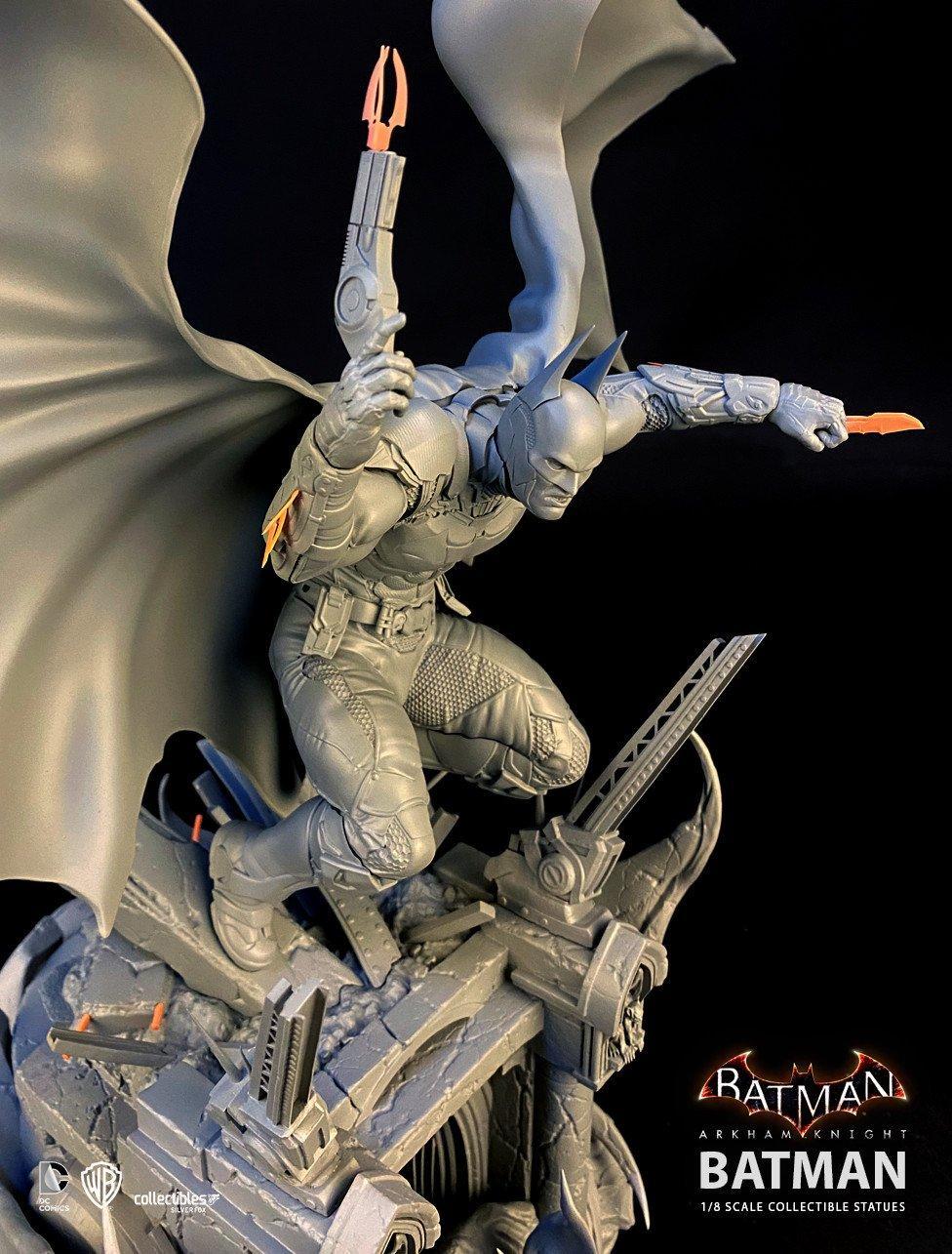 Batman siver fox collectibles batman arkham knight 1 8 scale statue12