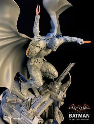 BATMAN - Siver Fox Collectibles - Batman Arkham Knight 1:8 Scale Statue