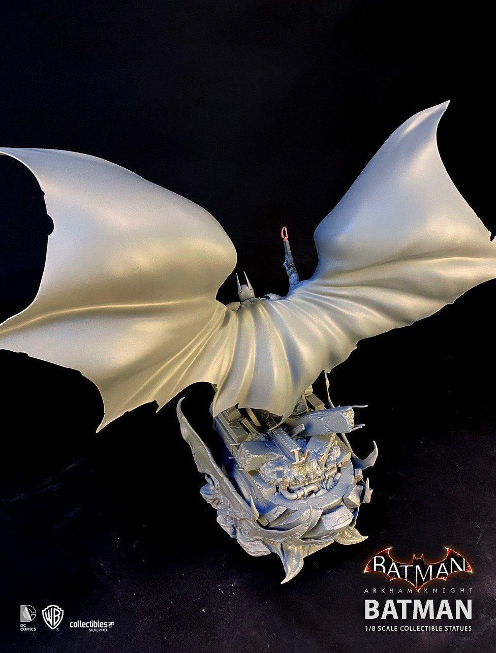 Batman siver fox collectibles batman arkham knight 1 8 scale statue7