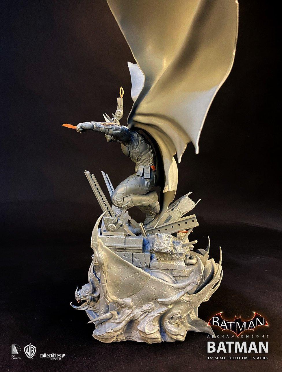Batman siver fox collectibles batman arkham knight 1 8 scale statue9