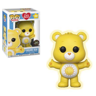 CARE BEARS - Funko POP Animation - Funshine Bear Vinyl Figure 10cm Chase