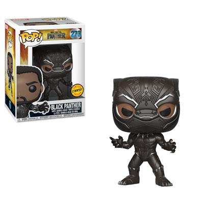 BLACK PANTHER - Funko POP - Black Panther Vinyl Figure 10cm Chase