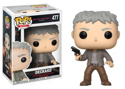 BLADE RUNNER 2049 - Funko POP Movies - Deckard Vinyl Figure 10cm