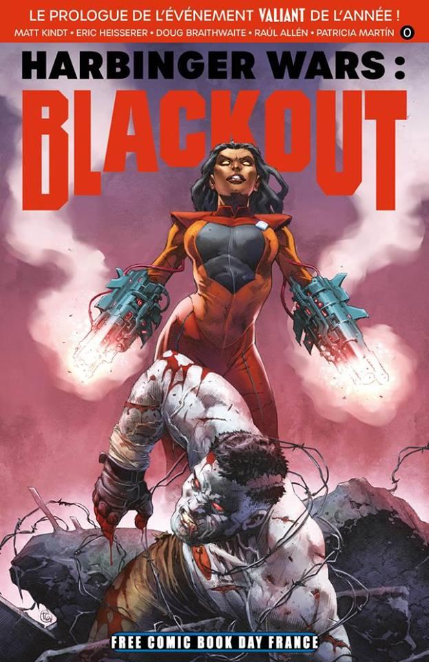 Bliss comics free comic book day france 2019 harbinger wars blackout