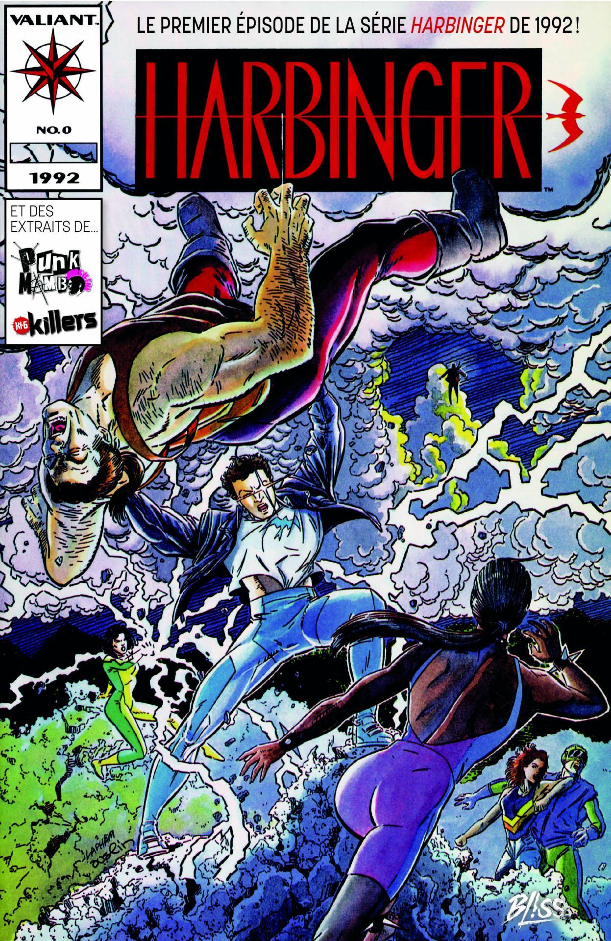 Bliss comics free comic book day france 2020 harbinger 1992