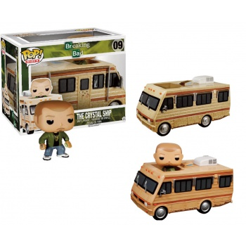 Breaking bad rides pop the crystal ship fleetwood bounder rv motorhome 14cm