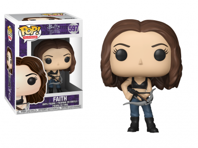 BUFFY CONTRE LES VAMPIRES - Funko POP Television - Faith Vinyl Figure 10cm