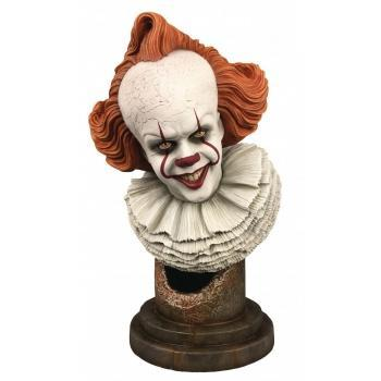 IT - Diamond Select Toys - Legends in 3D - Pennywise 1/2 Bust