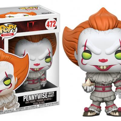 Ça (It) - Funko POP Movies - Pennywise with Boat Vinyl Figure 10cm
