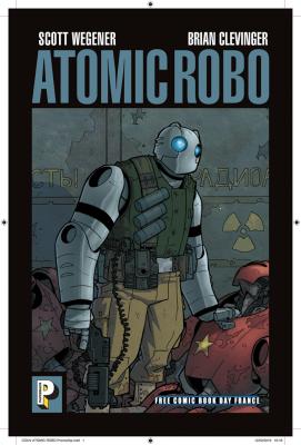 CASTERMAN - FCBD FRANCE 2019 - Atomic Robot