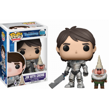 TROLLHUNTERS - Funko POP - Jim Armored Vinyl Figure 10cm