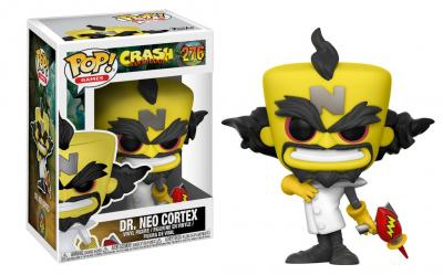 CRASH BANDICOOT - Funko POP Games - DR. NEO CORTEX Vinyl Figure 10cm
