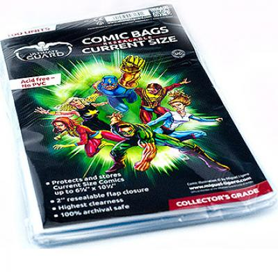 Ultimate Guard 100 pochettes Comics refermables (Current Size)