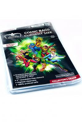 Ultimate Guard Comic Bags Resealable Current Size (100)