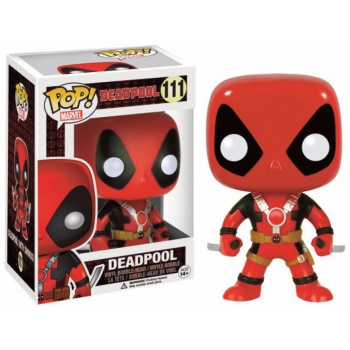 Deadpool funko pop deadpool two swords vinyl figure 10cm