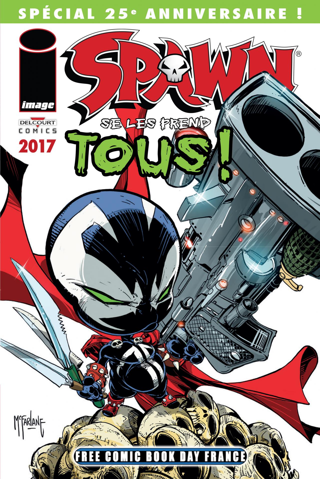 Delcourt comics spawn fcbdfrance2017