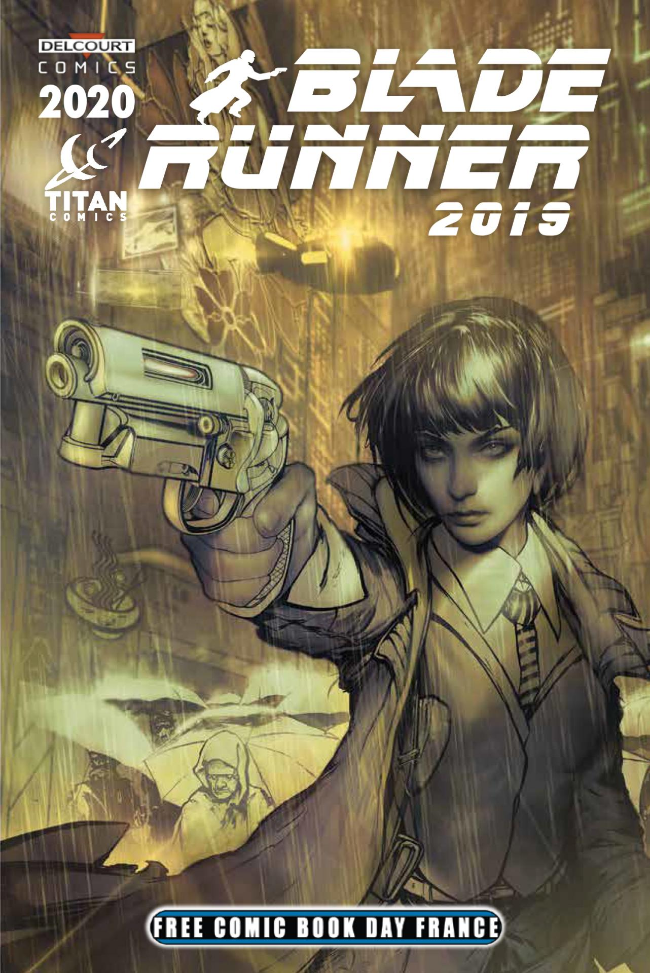 Delcourt free comic book day france 2020 blade runner 2019