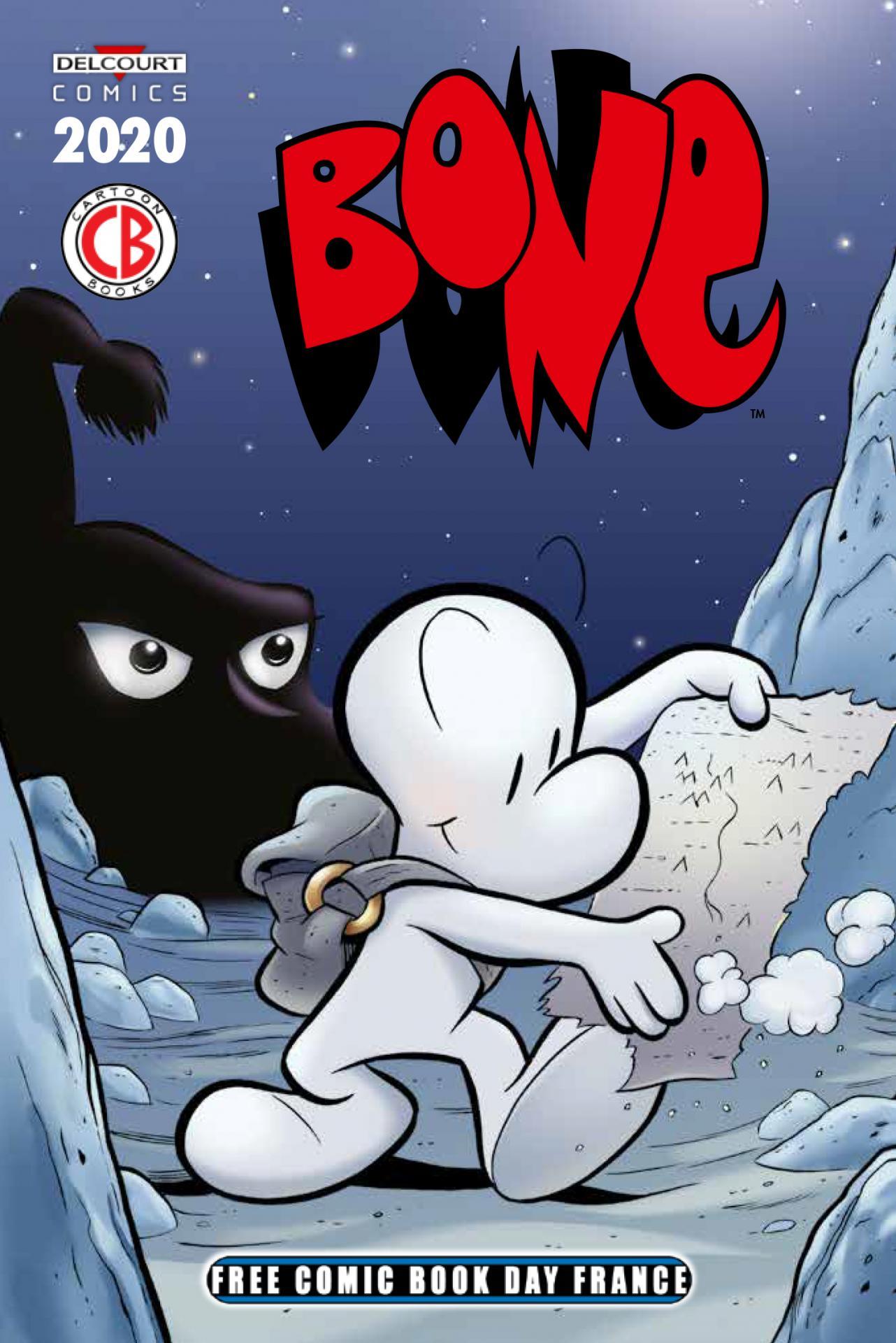 Delcourt free comic book day france 2020 bone