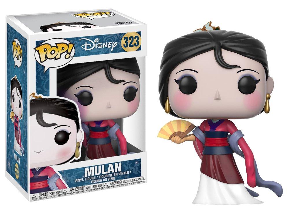 Disney funko pop disney mulan vinyl figure 10cm