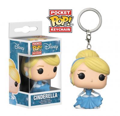 Disney Funko POP Keychains - Cinderella Vinyl Figure 4cm