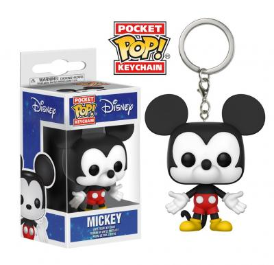 Disney Funko POP Keychains - Mickey Mouse Vinyl Figure 4cm